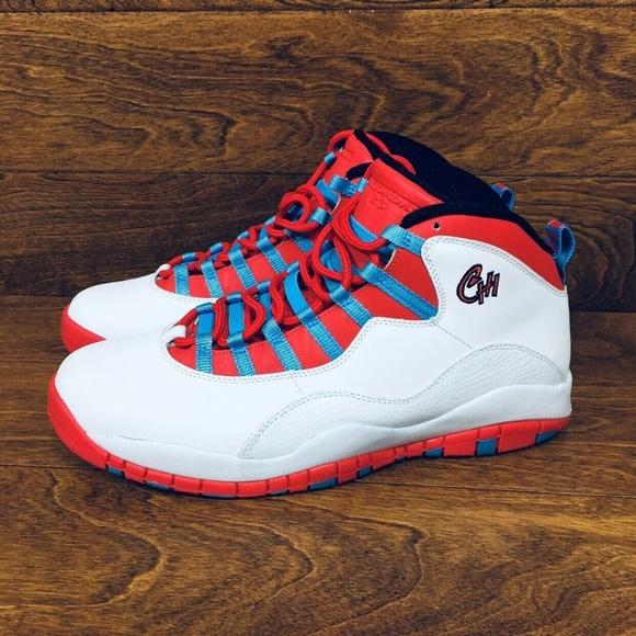 b0dcaabc34b Jordan Shoes | Nike Air 10 X Men Size 12 Chi Town | Poshmark